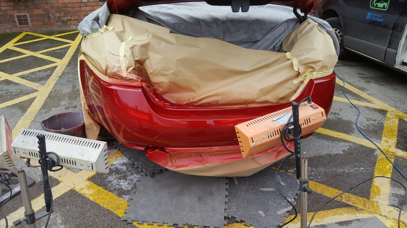 JAGUAR mobile car body repair. Dent and scratch repair.